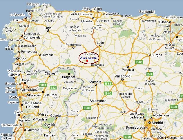 benavente mapa El municipio de Arrabalde benavente mapa